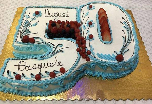 torta di compleanno 50 anni