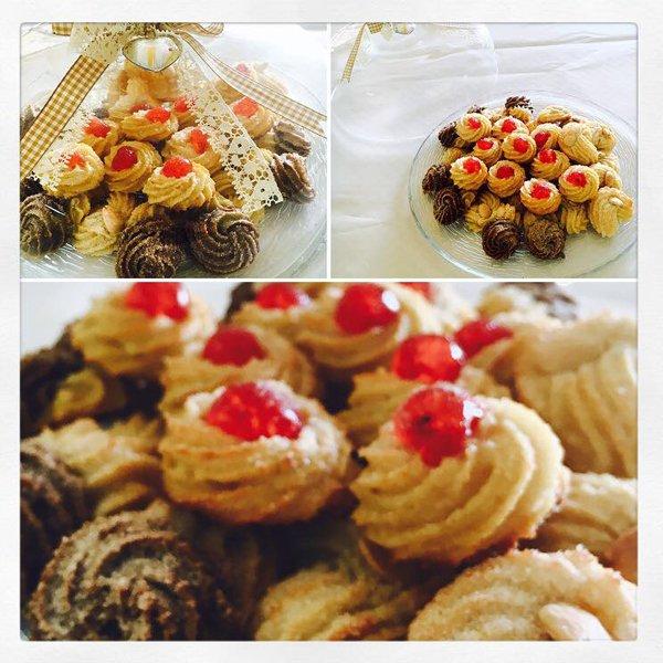 assortimento di biscotti secchi vari gusti