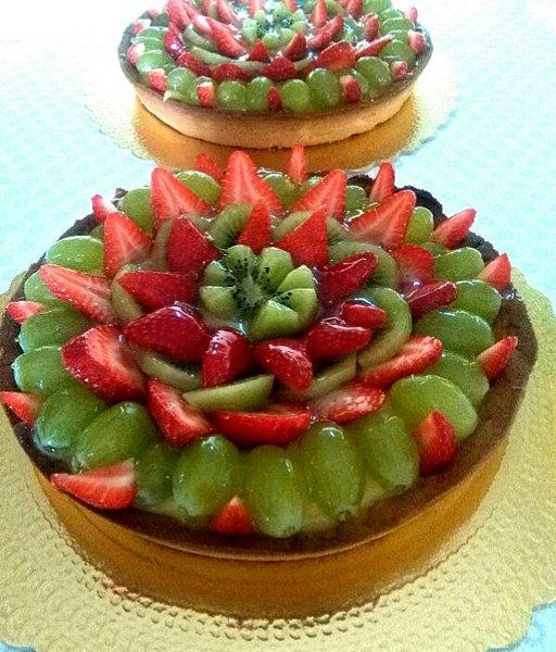 torte farcite con frutta