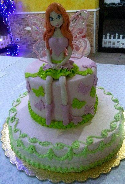 torta per cerimonia bambina