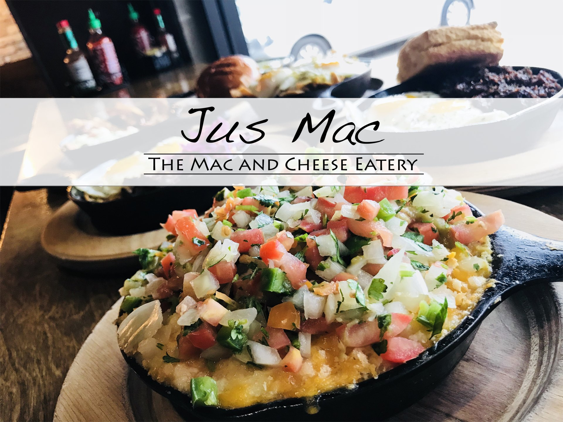 Jus Mac Eatery Houston Mac And Cheese Restaurant