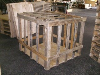 produzione gabbie legno