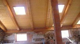 costruzione tetto, edifici industriale, esercizi commerciali