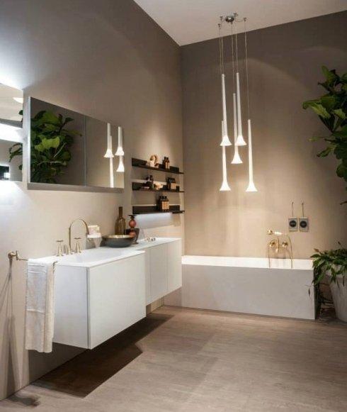 arredamento bagno, bagni bianchi, specchi