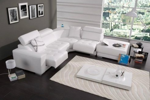 divani bianchi, offerto, settore dell