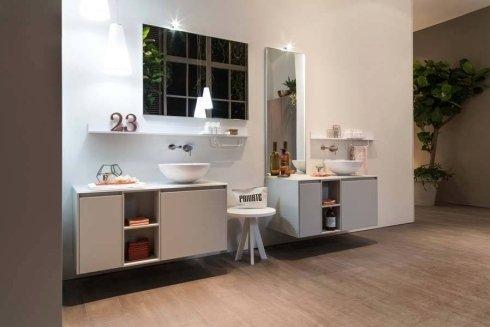 bagno completo, arredamento bagno, mobili in sospensione