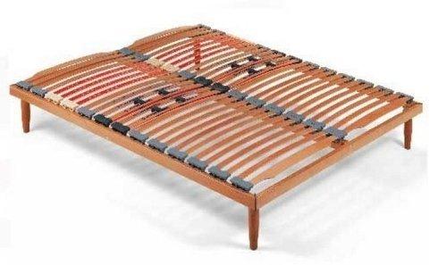 reti ortopediche, letti con assi di legno, reti con doghe di legni