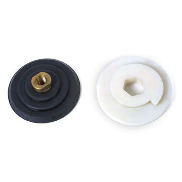 Rubber Backer Pads/Snail Lock