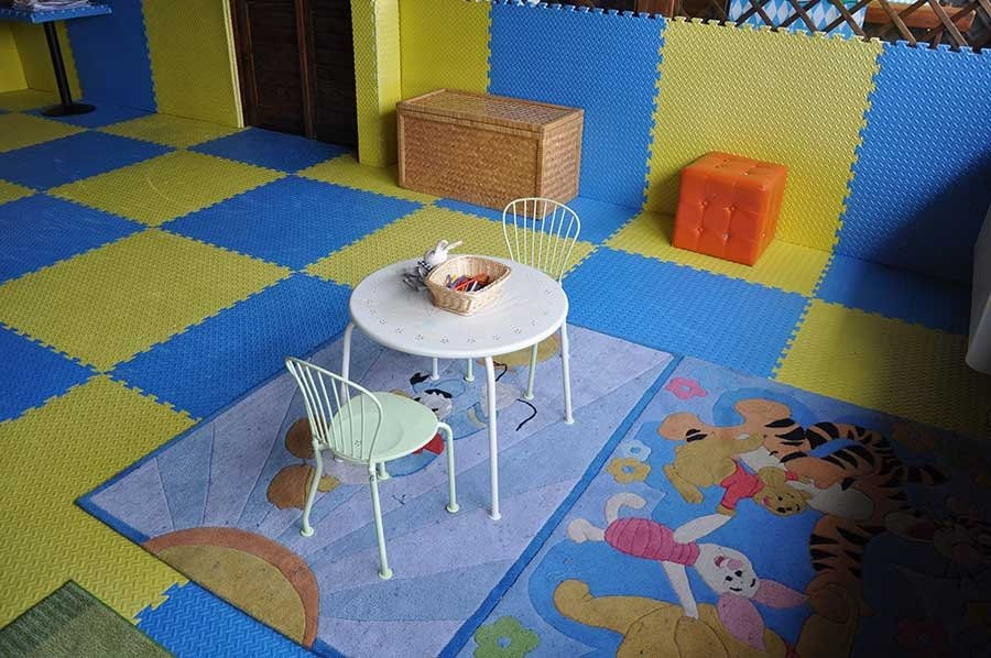 spazio per bambini
