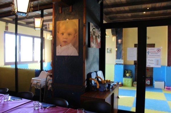 Ristorante  Novara  con sala bambini