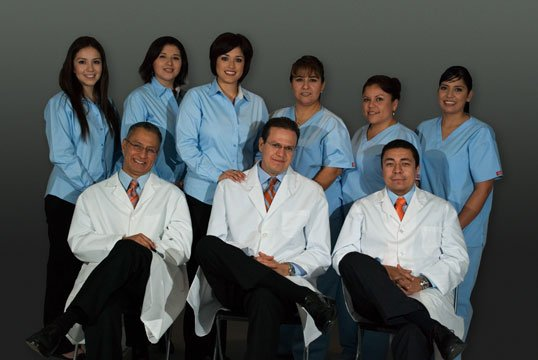 Picture Of All Dental Staff
