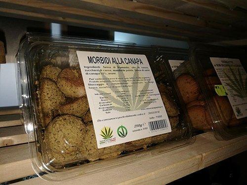 biscotti a base di canapa