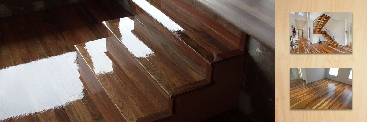 wollongong floorsanding and polishing polished staircase
