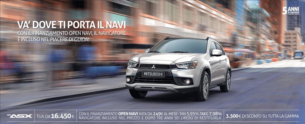 Mitsubishi Asx promo