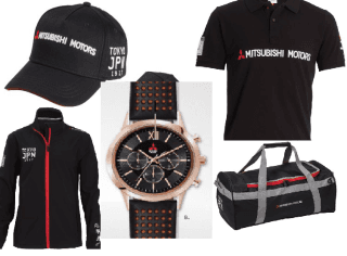 Merchandising Mitsubishi