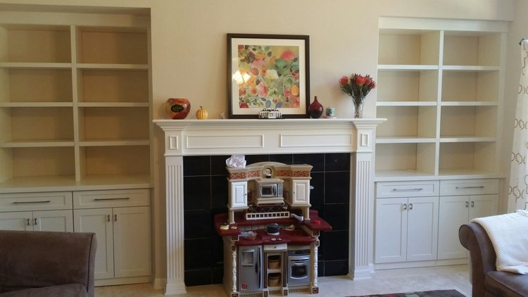 double fireplace niche entertainment centers with drawers and doors