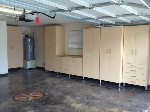 adjustable garage cabinets