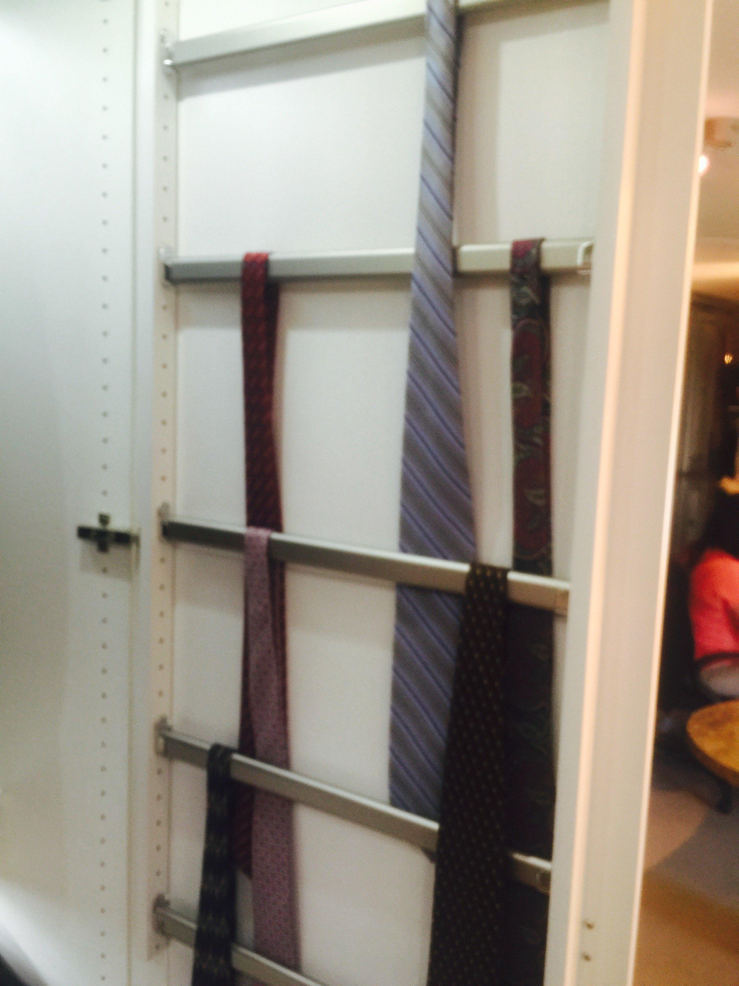 Door Tie Rack