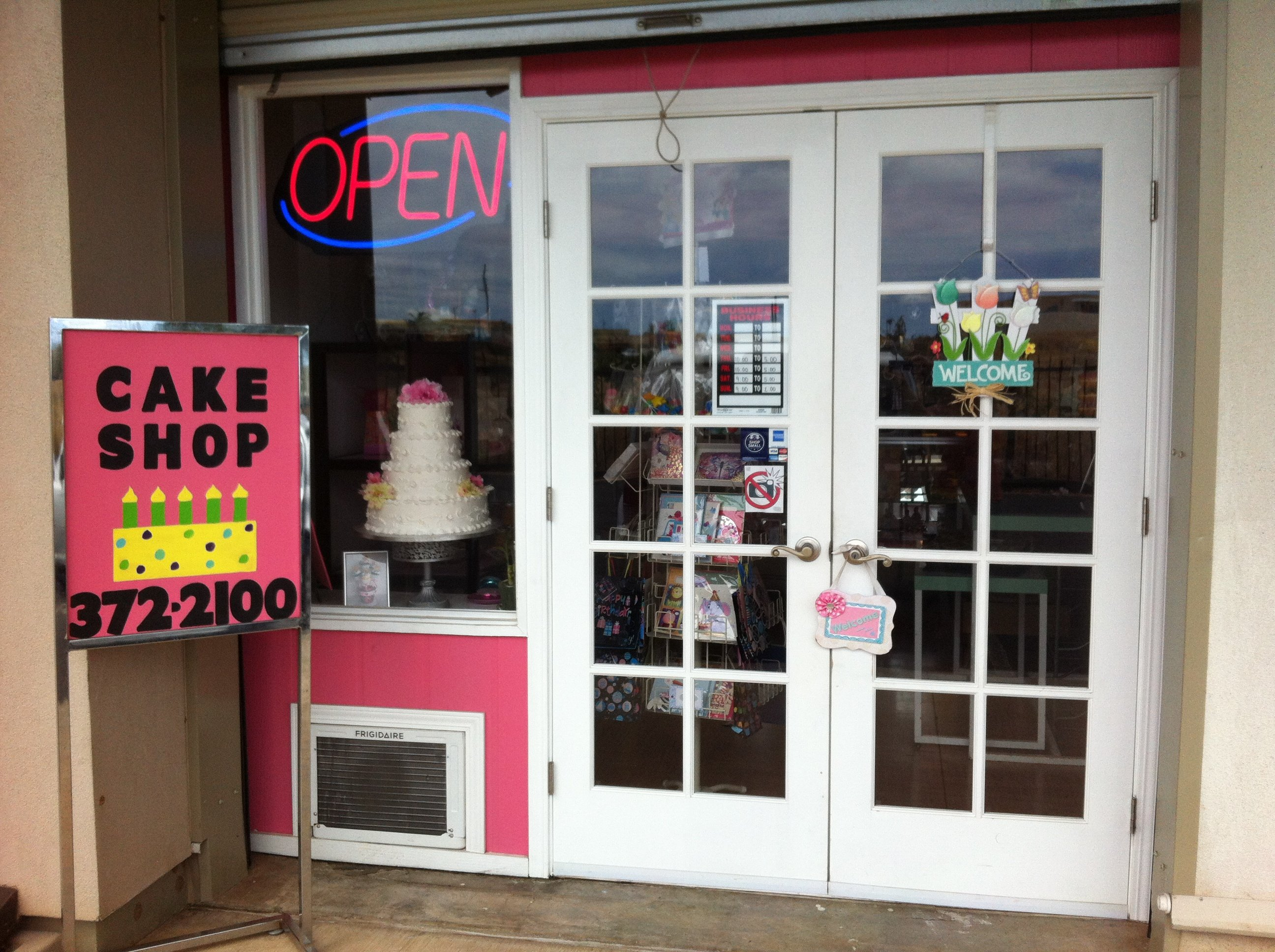 Confections in Kapolei storefront