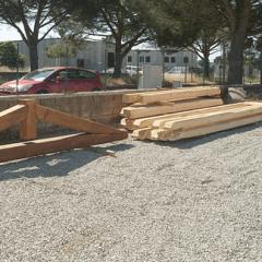 travi e listoni di legno