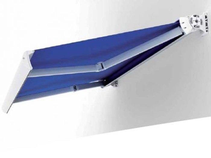 tenda da sole esterna blu scuro