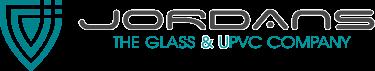 Jordans The Glass & UPVC Company logo