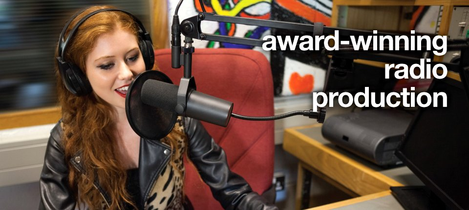 award-winning radio production