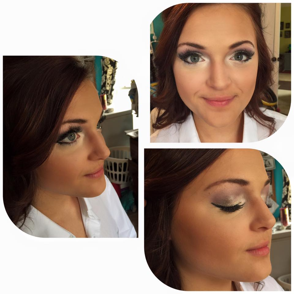 Wedding & Bridal Party Makeup in Spartanburg, SC