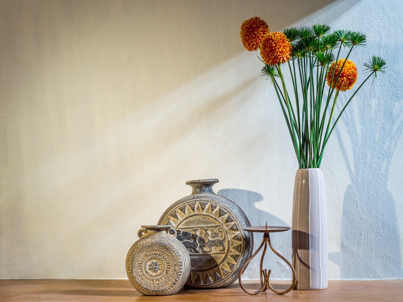 vasi e fiori da interno