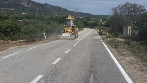Rifacimento manto stradale Olbia