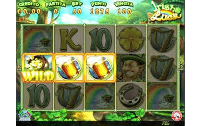 Spielautomat Irish Luck