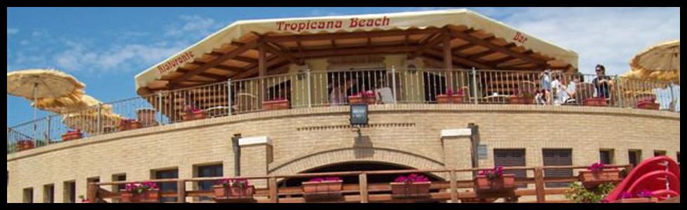 Terrazze sul Mare - Stabilimento Balneare Tropicana Beach, lungomare Italia - Follonica (GR)