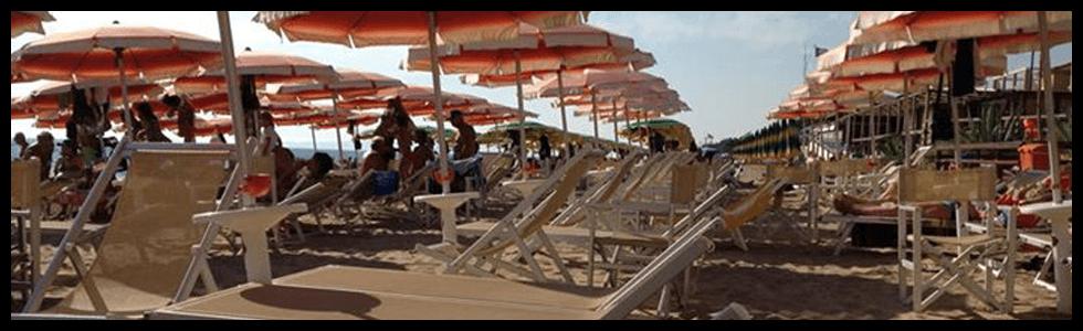 Spiaggia Attrezzata - Stabilimento Balneare Tropicana Beach, lungomare Italia - Follonica (GR)
