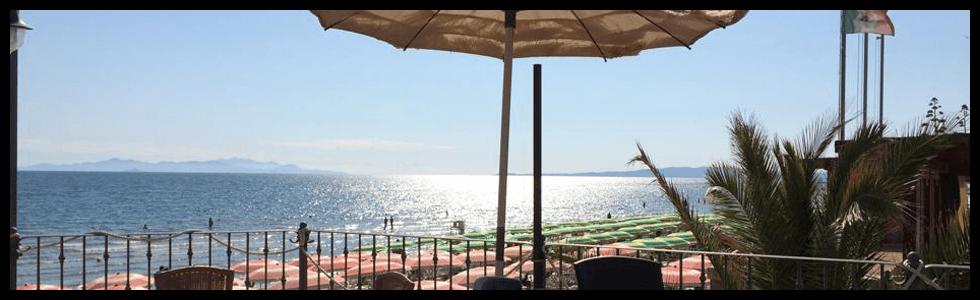 Ristorante Bar - Stabilimento Balneare Tropicana Beach, lungomare Italia - Follonica (GR)