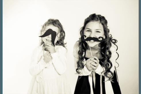 servizio fotografico bambine