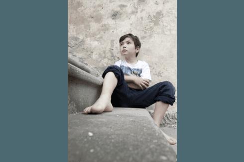 book fotografico bambino