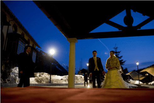 sposi inverno