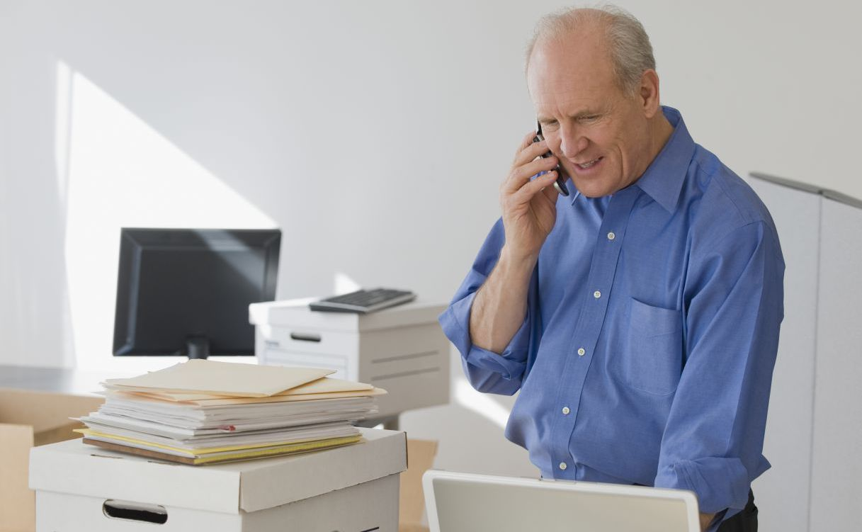 Man calls to ask about record management in our Anchorage, AK facility