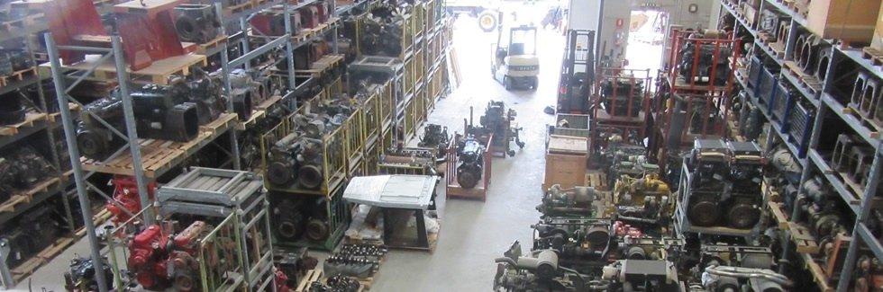 magazzino ricambi trattori