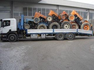 demolizione trattore