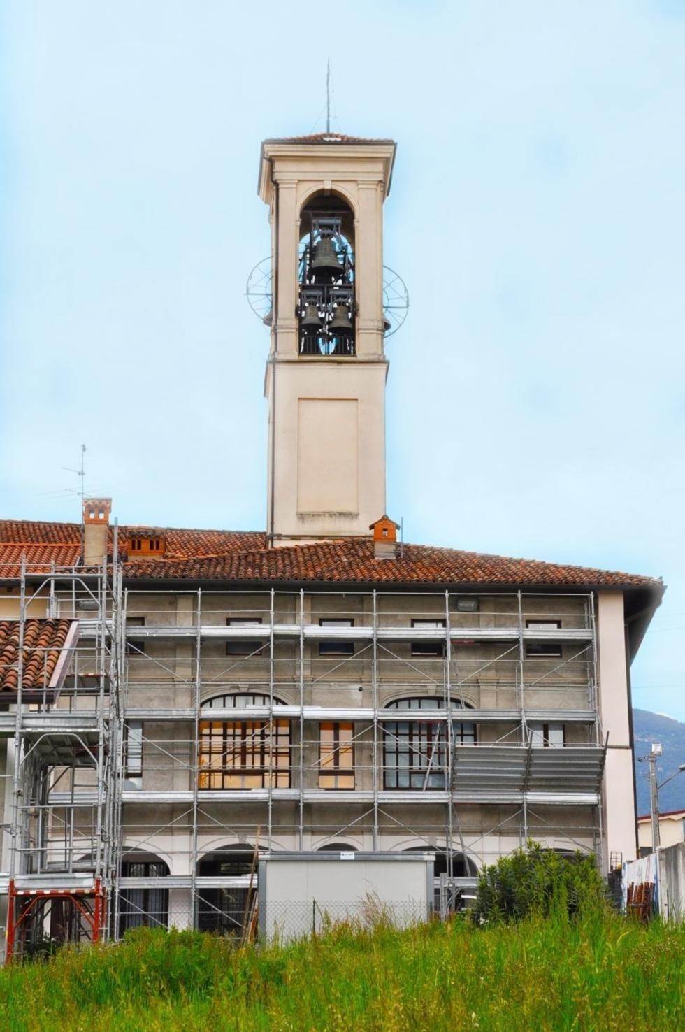 Rifacimento facciate presso Parrocchia di Locate – S. Antonino Martire