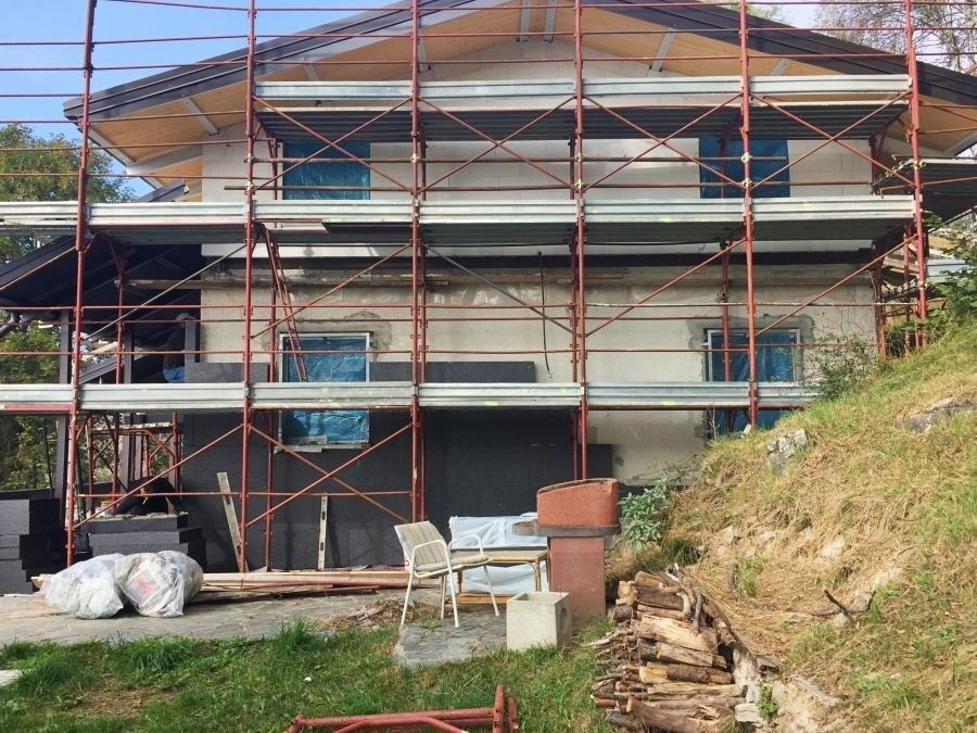 Rivestimento termico a cappotto presso abitazione privata - Piani dei Resinelli (LC)