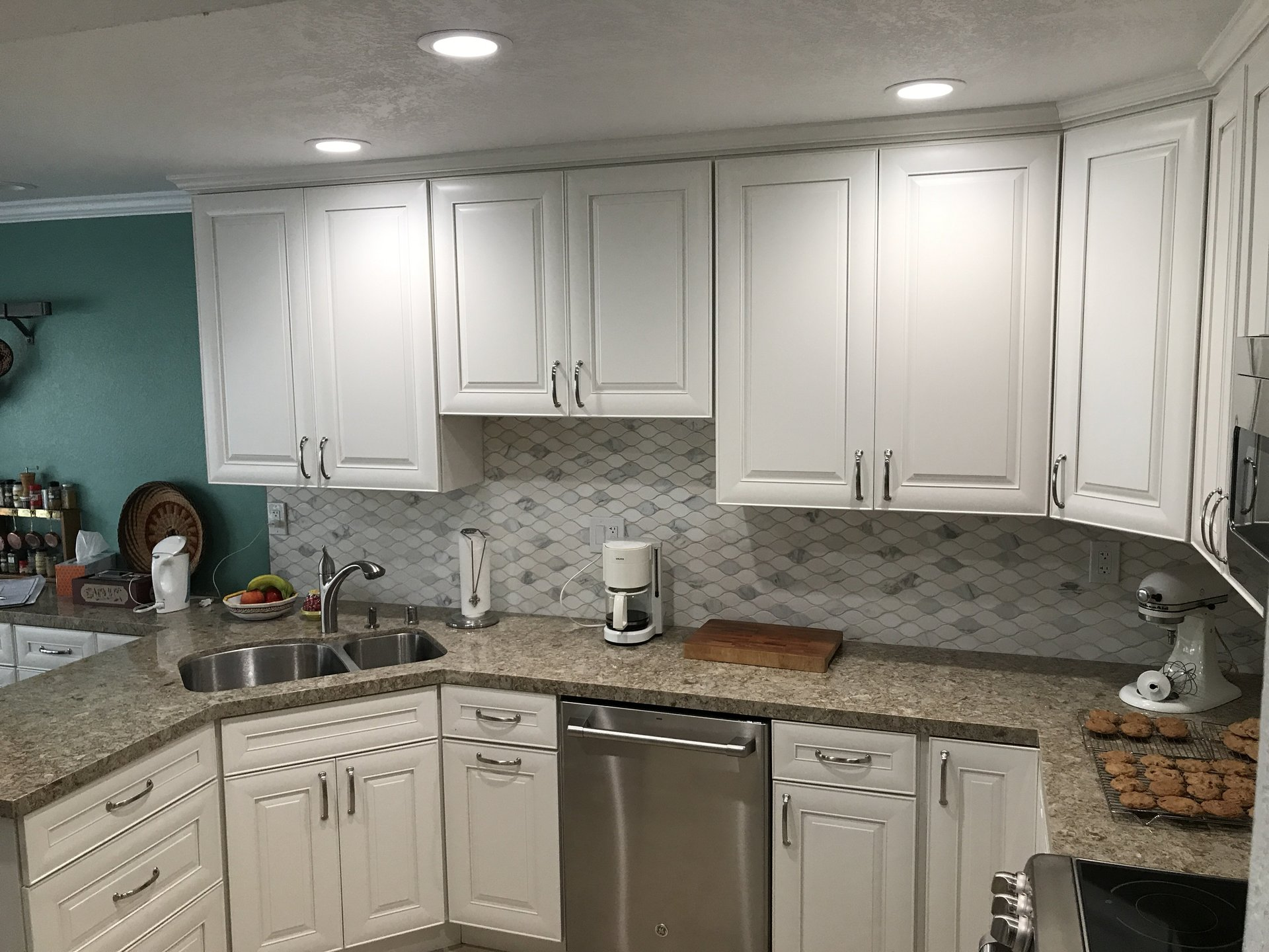 Remodeled Kitchen Counters U0026 Cabinets, San Jose CA