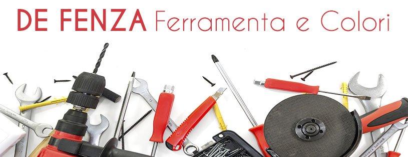 Cartello con il nome della casa e vari tipi di strumenti: chiave inglese,cacciavite,martello elettrico