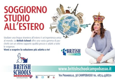Soggiorno studio a Londra - Campobasso - BRITISH SCHOOL OF ENGLISH