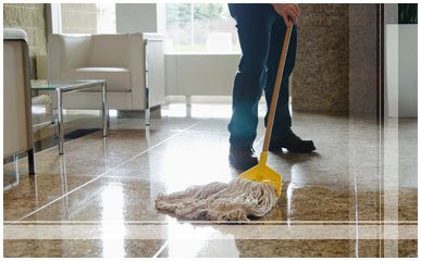 mosaic floor cleaning