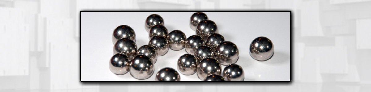 hooper bearings silver ball bearings with pattern background