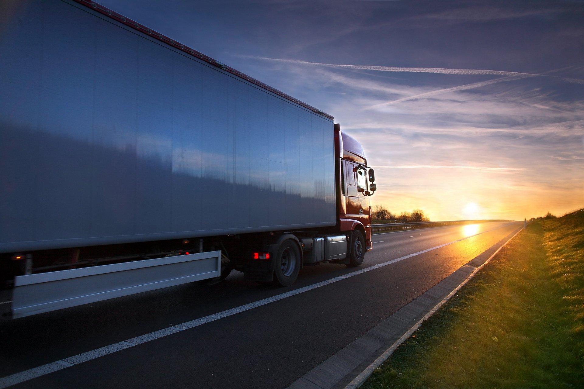camion per trasporto merci