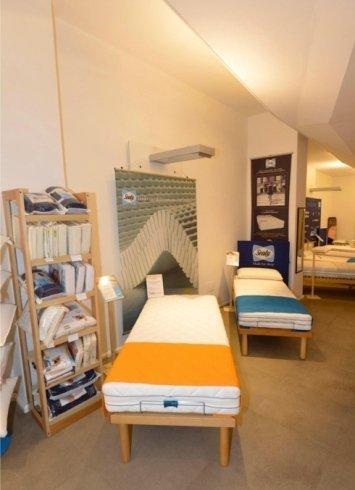 showroom di materassi in lattice