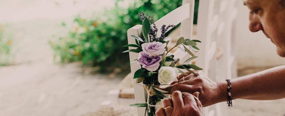 Fiorista esperto per matrimoni Bari